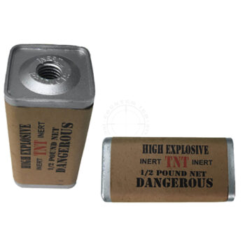 TNT 1/2 lb. Demolition Block (WWII) - Inert Replica Training Aid