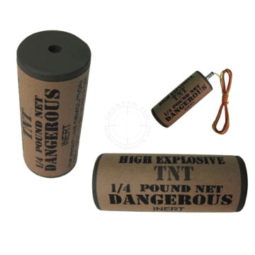 TNT 1/4 lb Demolition Charge (Round) - Inert Training Aid