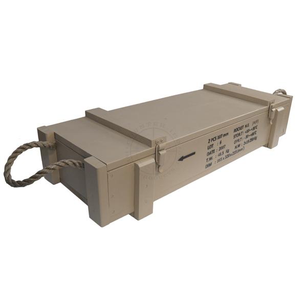 107mm Iraqi HE Rocket Crate
