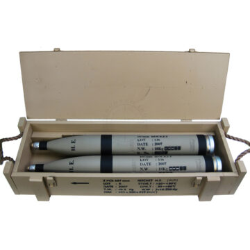 107mm Rocket Crate