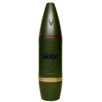 122mm Czech 500-1 WP Smoke Artillery Projectile Inert Replica Training Aid