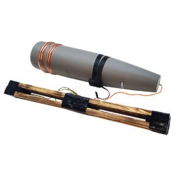130mm Artillery Projectile IED w Low-Metal Content Pressure Plate - Inert Replica OTA-60PS copy