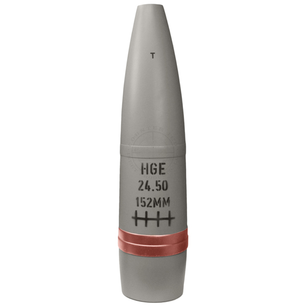 152mm Iraqi HE Artillery Projectile - Inert Replica Training Aid