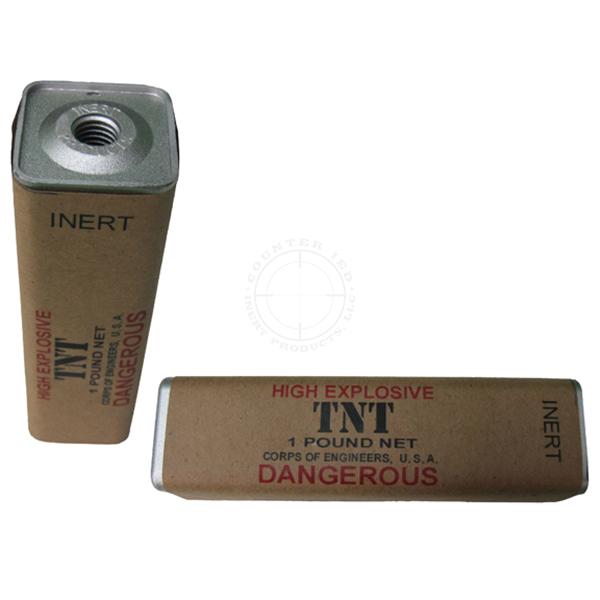 TNT 1 lb. Demolition Block (WWII) - Inert Replica Training Aid