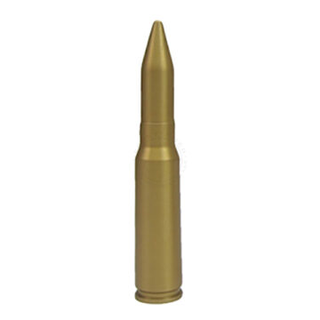20mm Round (All-Metal) - Solid Dummy Replica Ammunition