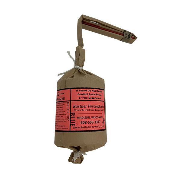 "3"" Cylindrical Fireworks Shell - Inert Training Aid"