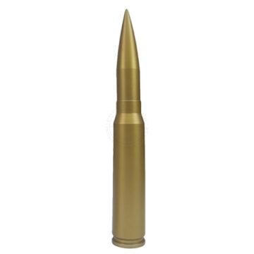 30mm Round (All-Metal) - Solid Dummy Replica Ammunition