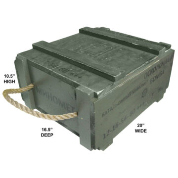60mm Soviet Mortar Crate (Empty)