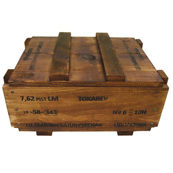 7.62 x 25 Soviet Ammo Crate (Empty)