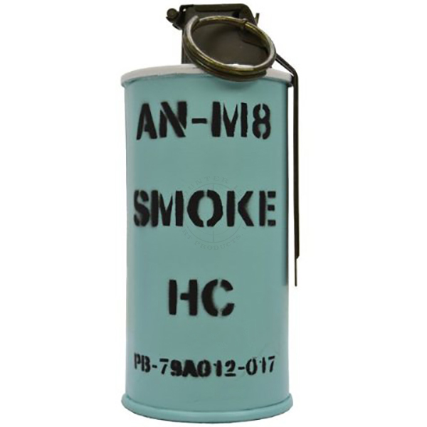 AN-M8 Smoke Grenade - Inert Replica Training Aid