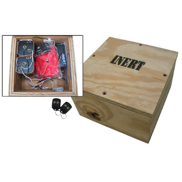Box IED w/ Vehicle Alarm Firing Device - Inert Replica Training Aid