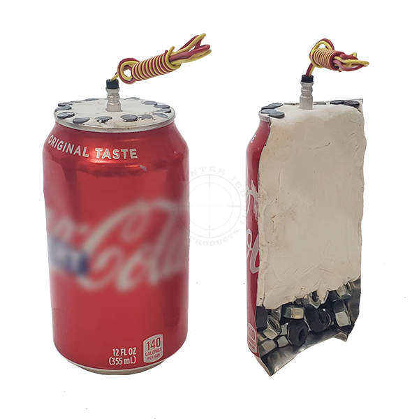 Aluminum Can IED, Two Piece Set - Inert Replica OTA-6137