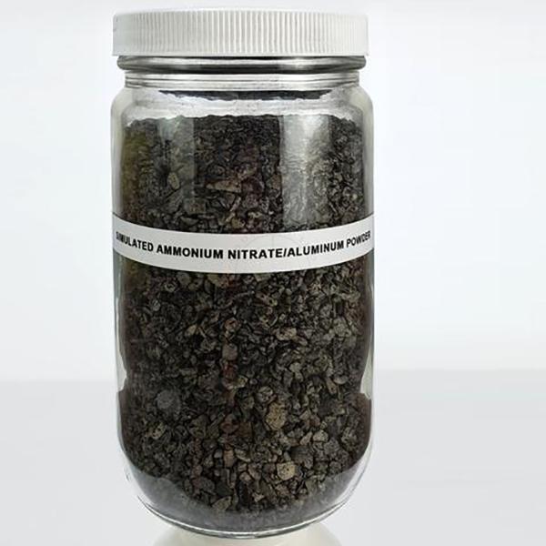 Ammonium Nitrate / Aluminum Powder (AN/Al) Prills, Large Sample - Inert Training Aid