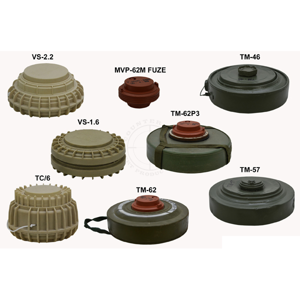 Anti-Tank Landmine Kit - Inert Replica Training Aids