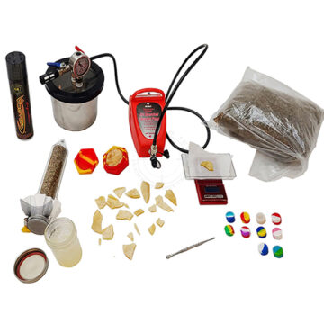BHO (Butane Honey Oil) Lab - Simulated Training Kit