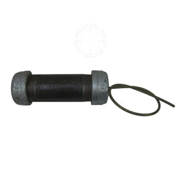 Steel Pipe Bomb IED, Medium (Time Fuse) - Inert Replica Training Aid