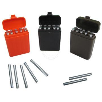 Non-Electric Detonators / Blasting Caps (Deluxe, Closed-End), 10 Pieces with Storage Case - Inert Replica Training Aids
