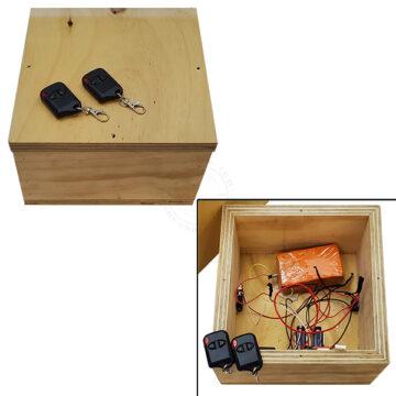 Box IED Booby Trap Device - Inert Replica OTA-6110