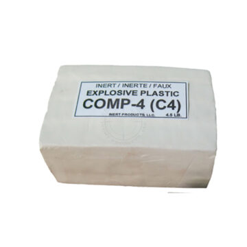 C4 4.5 lb, Packaged Block - Inert Training Aid