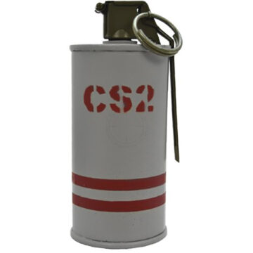 CS2 Gas Riot Grenade - Inert Replica Training Aid