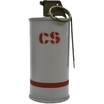 ABC-M7A2 CS Gas Riot Grenade - ​Inert Replica Training Aid