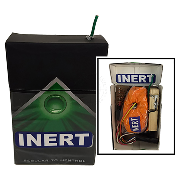 Cigarette Pack IED - Inert Replica Training Aid