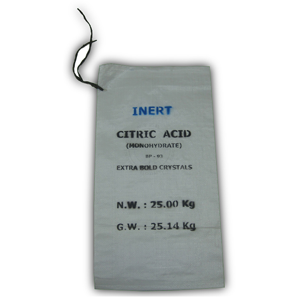 25 Kg Citric Acid Bag - Empty