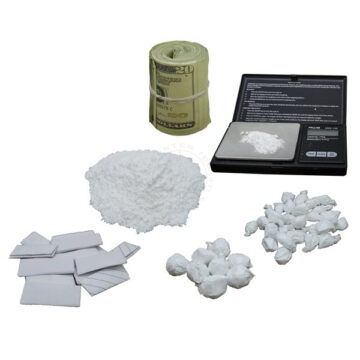 Cocaine Distribution Set - Simulated Training Kit