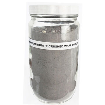 Crushed Ammonium Nitrate + Aluminum Powder - Inert Training Aid