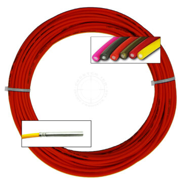 Detonating Cord (Solid Core), 100 ft Coil (Red) - Inert Replica OTA-SC05