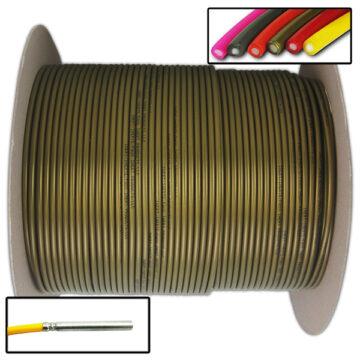 Detonating Cord (Solid Core), 1,000 ft Spool (Bronze) Replica OTA-SC04