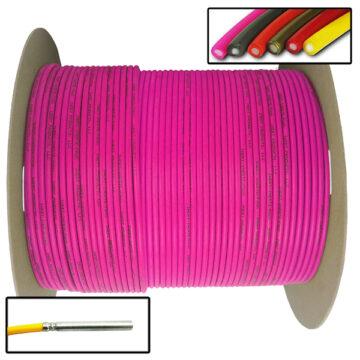 Detonating Cord (Solid Core), 1,000 ft Spool (Pink) Replica OTA-SC010