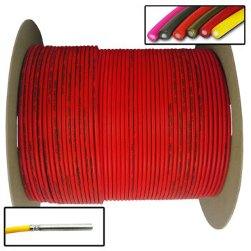 Detonating Cord (Solid Core), 1,000 ft Spool (Red) Replica OTA-SC06 NSN 1375-01-594-5955