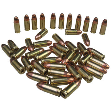 9mm Rounds (Lot of 10) - Dummy Training Ammunition
