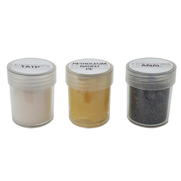 Explosives Samples Set #6 (TATP, Petroleum-Based PE, AN/Al) - Inert Training Aids