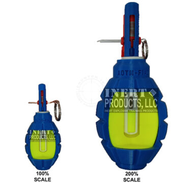AOTM F-1 Grenade Cutaway - Inert Replica Training Aid