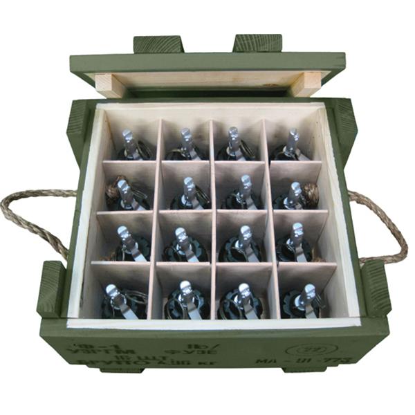 F-1 Soviet Frag Grenades Crate (with 16x Replica Grenades)