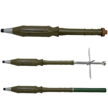 GHEF-7LDMA RPG Rocket - Inert Replica Training Aid