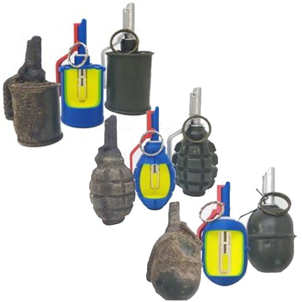Soviet Frag Grenades - Inert Classroom Training Set