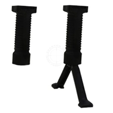 Grip Pod Vertical Grip w/ Collapsible Bipod - Polymer Black