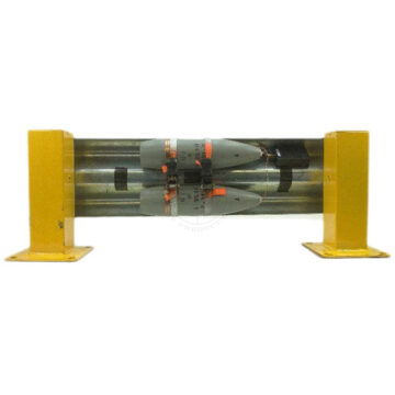 Double 122mm Guard Rail IED - Inert Replica Training Aid