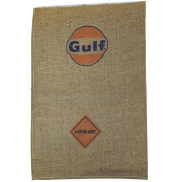 Gulf Blasting Agent Burlap Bag - Empty