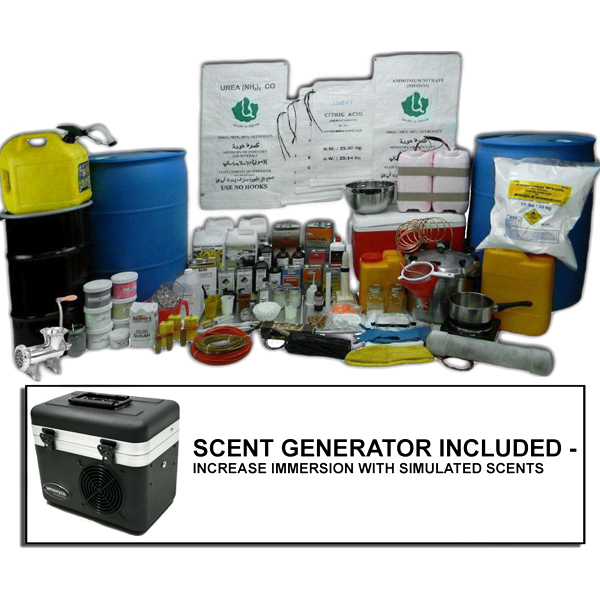 Large HME Fertilizer Lab - Inert Training Kit with Scent Generator