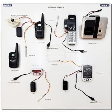 IED Firing Devices Display Board (24 x 24) OTA-7016