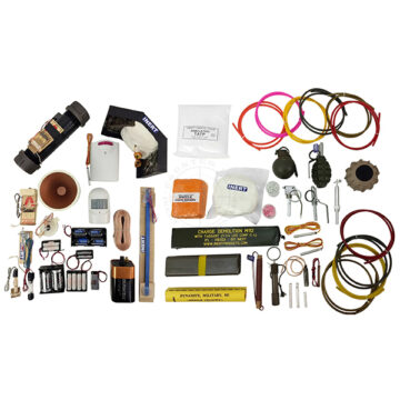 IED Threat Recognition & Awareness Tactical Trainer Kit - Inert Training Aids