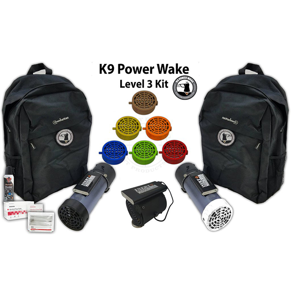 K9 POWER WAKE SCENT CONE TRAINING SYSTEM – LEVEL 3 PACKAGE
