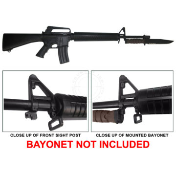 M16A2 (Bayonet Trainer) - Solid Dummy Replica