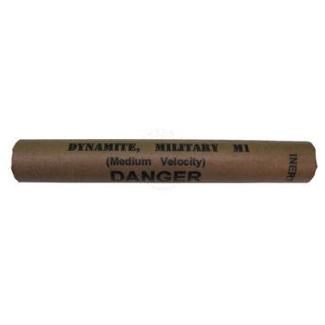 M1 Medium Velocity Dynamite Stick - Inert Training Aid