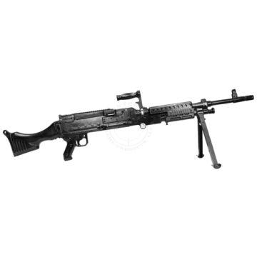 M240 Bravo Machine Gun - Solid Dummy Replica