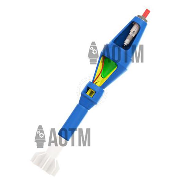 AOTM M4 Fuze Cutaway (Point‐Initiating, Base‐Detonating) - Inert Classroom Training Aid